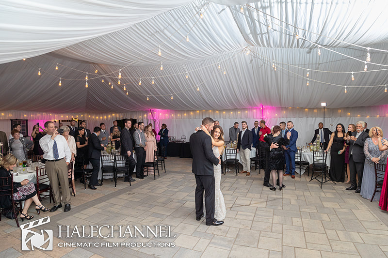 Upper Vista Tent Wedding MA